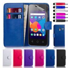 Étuis, housses et coques en cuir pour téléphone mobile et assistant personnel (PDA) Alcatel