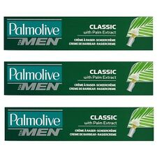 3x 100ml  Palmolive for men RASIERCREME / Shave Cream  CLASSIC