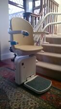 MINIVATOR CURVED 2000 STAIRLIFTS FITTED {WARRANTY}, MANUAL SWIVEL ONLY £2195