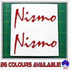 2x NISMO Nissan Skyline 180sx Silvia performance drift race car decals stickers!
