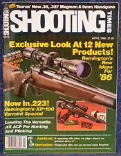 Magazine SHOOTING TIMES, April 1986 !!! REMINGTON Model 700 Mountain RIFLE !!!