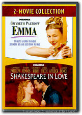 Emma / Shakespeare In Love DVD New Gwyneth Paltrow Joseph Fiennes