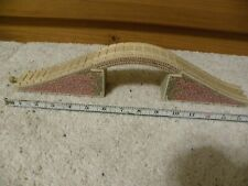 Thomas Wooden Railway Train Tank Engine Arch Mountain Tunnel Stone Bridge Used