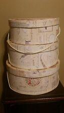 1999 Tri-Coastal Design Decorative Stacking Hat Boxes
