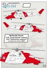 Syhart 1/72 Mil Mi-24V Hind-E ''U.S. Coast Guard'' # 72102