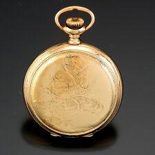 0 Size Hunter Case, 15 Jewels Womens Antique Illinois Pendant Watch C1913 |