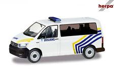 Herpa 095396 H0 VW T6 Bus, Zoll Belgien 1:87 ++ NEU & OVP