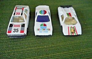 3 DIECAST STOCK RACE CARS 1:64 (HO SCALE)