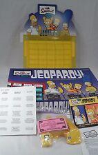 2003 Pressman The Simpsons Edition Jeopardy Trivia Game