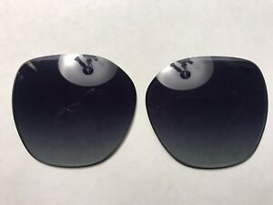 Tiffany & Co. TF4145B Blue Gray Gradient Replacement Lenses size 57 mm Authentic