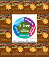 {Entel} 12 Pack - Mayu (Horse Oil) Korean Essence Mask Sheet, Five Chemical Free