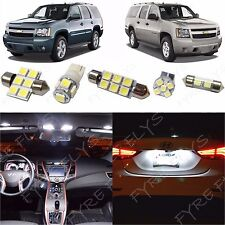14x White LED lights interior package kit for 2007-2014 Tahoe & Suburban CT3W