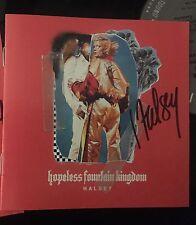 Halsey - Hopeless Fountain Kingdom AUTOGRAPHED SIGNED CD Rare Badlands
