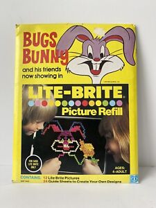 Bugs Bunny Lite Bright Picture Refill Pack Vintage Disney