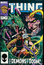 """MARVEL """"THE THING"""" COMIC BOOK VOLUME 1 NUMBER 13 JULY 1984"""