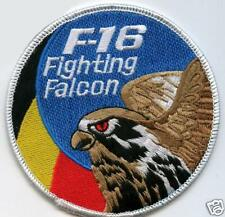 F16 FIGHTING FALCON SWIRL PATCH BELGIUM AIR FORCE SWIRL