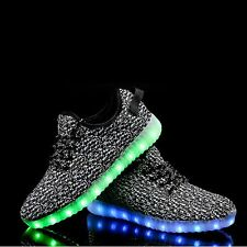 Led light sneekers 5 interchangeable colors colorrs gre green red