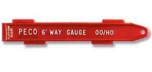 PECO :- SL-36 HO/00 6ft-Way Gauge Suitable both for Setrack & Streamline Track