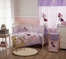 BRAND NEW DISNEY MINNIE MOUSE BUTTERFLY DREAMS 4 PIECE BEDDING COT SET