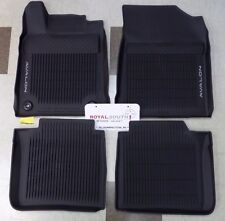 Toyota Avalon 2013 - 2017 Factory All Weather Rubber Floor Liners Genuine OEM OE