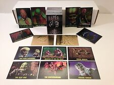 THE OUTER LIMITS (1997) Complete Card Set w/ GOLD, OMNICHROME & CASE CARD SETS