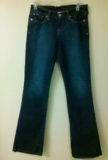Lucky brand woman's jeans Boot Cut dark wash size 28 EUC