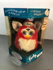 Original 1999 Santa FURBY Christmas Holiday Tiger Hasbro Interactive Electronic
