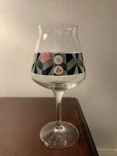 Other Half Trillium Traingle Test Pink Teku Glass