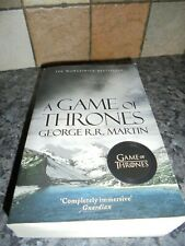 SONG OF ICE AND FIRE GAME OF THRONES BOOK