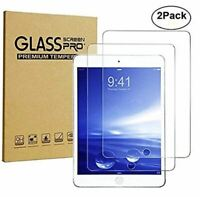 Fits Apple iPad 10.2 7th Generation Tempered Glass Screen Protector 2 Pack(2019)