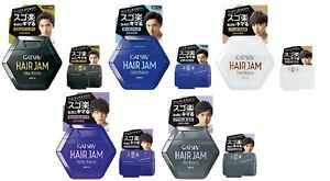 "Made in JAPAN Mandom GATSBY HAIR JAM ""110ml, 30ml"" Hair Wax"