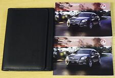 GENUINE VAUXHALL INSIGNIA 2008-2013 HANDBOOK OWNERS MANUAL + INFOTAINMENT PACK