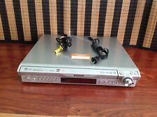 Panasonic 5 DVD Player HDMI AUX, AM/FM Radio Music Port SA-HT740