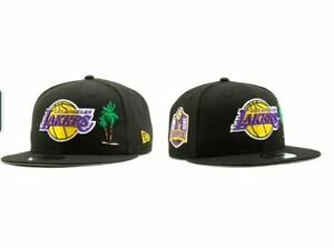 New Era Los Angeles Lakers Palm Tree 2020 NBA Champions Edition Snapback Hat