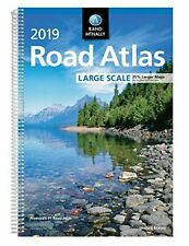2019 Large Scale Road Atlas by Rand McNally 264 Pages %35 larger Maps