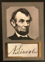 Abraham Lincoln 2020 D. Gordon ACEO Sample Card United States President