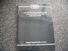 Phillips Auction Catalogue - Pollington Collection Staffordshire Prattware 1992