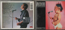 ZUCCHERO CD RISPETTO 1995  PRIMA EDIZIONE 11 tracce MADE IN FRANCE