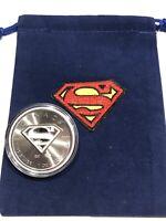 2016 SUPERMAN Coin BU $5 Canada Maple Leaf - 1 oz .999 Fine Silver W/ GIFT BAG