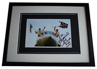 Mike Bannister Signed Framed Autograph 16x12 photo display Chief Concorde Pilot