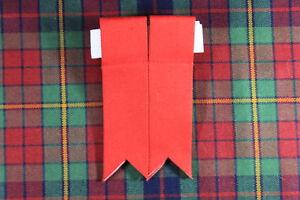 Schottischer Highland Kilt Polyester SCHLAUCH / SOCK Blitze mit Strumpfhalter