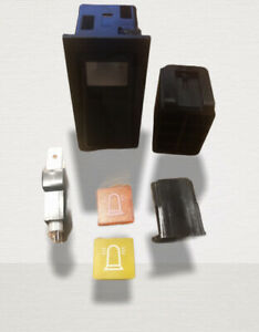 Tractor Beacon Rocker Switch Kit fits Case IH Ford New Holland Massey Tractor