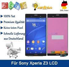 Display Für Sony Xperia Z3 D6603 LCD Touchscreen Bildschirm Einheit Schwarz