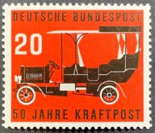 Germany, Bundesrepublik Deutschland, 50th Anniv. Postal Bus, Scott 728, MNH