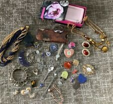 Silver and Gold Tone Vintage Jewelry, Pins, other Misc. Items Lot