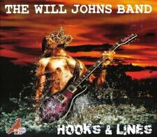 The Will Johns Band : Hooks & Lines CD (2013) ***NEW***