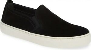 The Flexx-Sneak Name-Waterproof Suede Loafers- Color:Black- Women's Size 10-New!