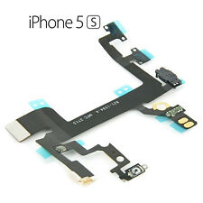 For Apple iPhone 5S Main Power On Off Switch Button Mic Flash Sensor Cable Flex
