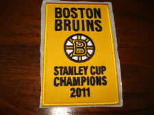 2011 Boston Bruins Stanley Cup Patch Aprox 2-1/2x 4 inch