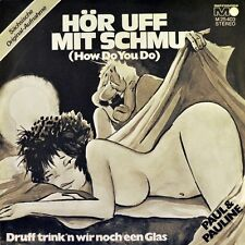 "7"" PAUL & PAULINE Hör uff mit Schmu WINDOWS How Do You METRONOME 1972 NEUWERTIG!"
